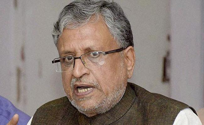 Sushil Modi Controversy Comments On Nitish Kumar In Bihar - Sakshi