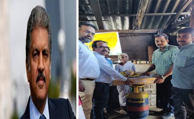 Anand Mahindra Tweet Helps Tamil Nadu Woman To Get Gas Connection - Sakshi