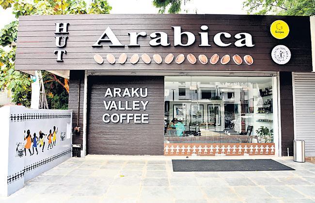 GCC Open Organic Coffee Shop in Visakhapatnam - Sakshi