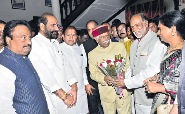 Bandaru Dattatreya as Governor of Himachal Pradesh - Sakshi