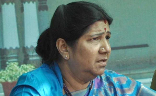 Case Filed against Nannapaneni Rajakumari - Sakshi