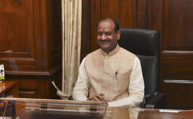 Editorial On Lok Sabha Speaker Om Birla Tweet Issue - Sakshi