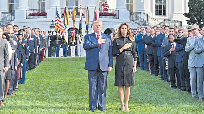 Trump issues new, revised order to counter terrorism - Sakshi