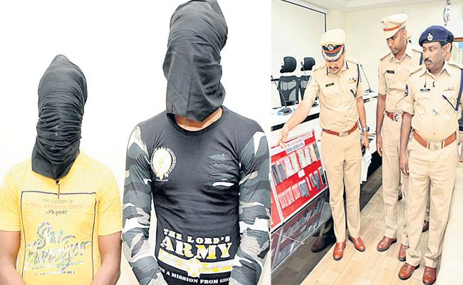 Bihari Gang Arrest in Hyderabad - Sakshi
