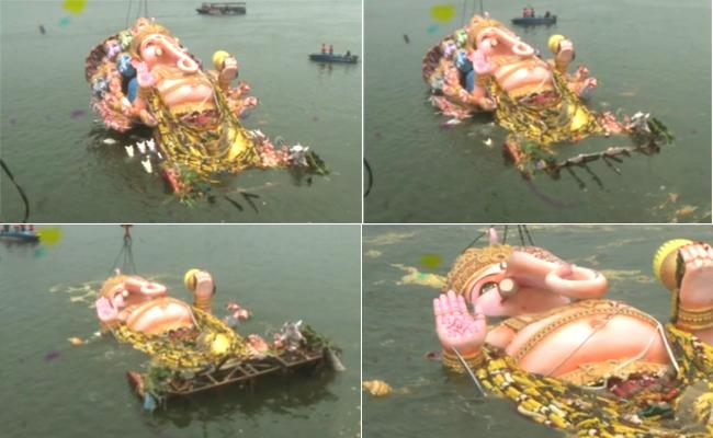 Ganesh Immersion Hyderabad 2019 Live Updates - Sakshi