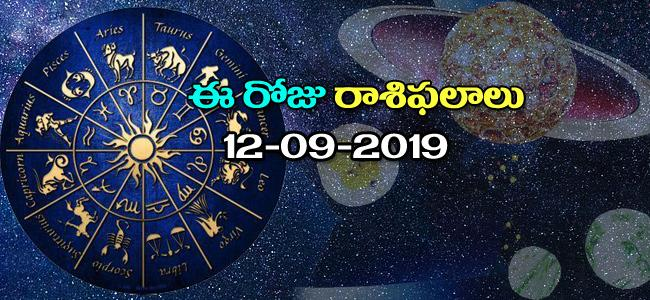 Daily Horoscope in Telugu12-09-2019 - Sakshi