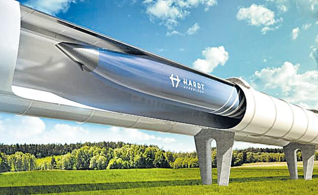 MAD Architects Design Urban Farming Infrastructure For Hyperloop Technology - Sakshi