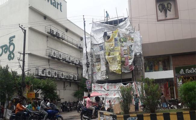 Illegal Constructions in Krishna - Sakshi