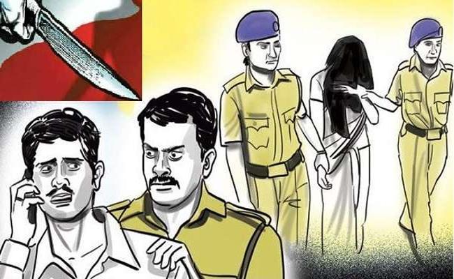 Wife Killed Husband by Lover in Macherla - Sakshi