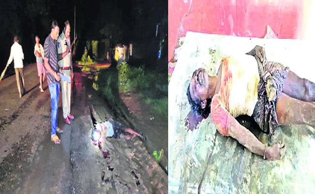 Son In Law Murdered His Uncle At Manthani - Sakshi
