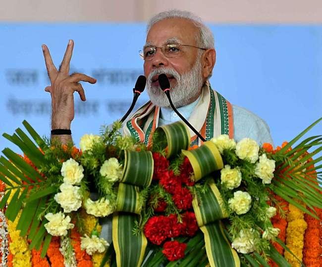 PM Modi Launches Pradhan Mantri Kisan Maan Dhan Yojana From Ranchi - Sakshi