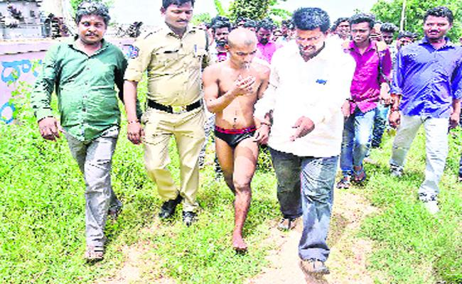 Prabhas Fan climbs cell Tower In Warangal - Sakshi