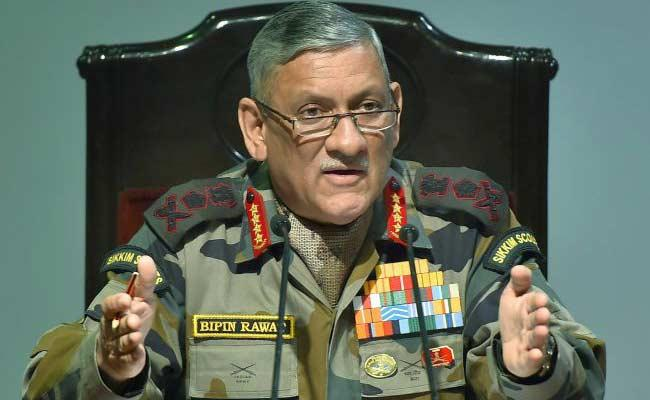 General Bipin Rawat Says Next Agenda Of India Is To Retrieve PoK - Sakshi