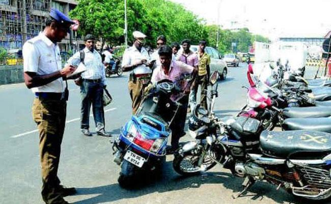 Motorists pay hundreds of crores of rupees each year - Sakshi