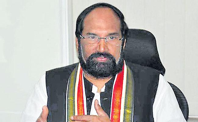 CM KCR cheated farmers Says Uttam kumar reddy - Sakshi