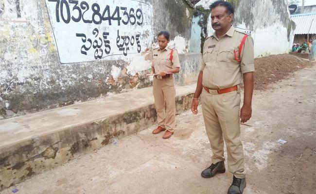 Police Series on Attack to Volunteer in Srikakulam - Sakshi