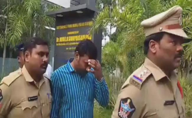 Ajay Chaudhary Arrested For Laptop Theft Case In Sattenapalli - Sakshi
