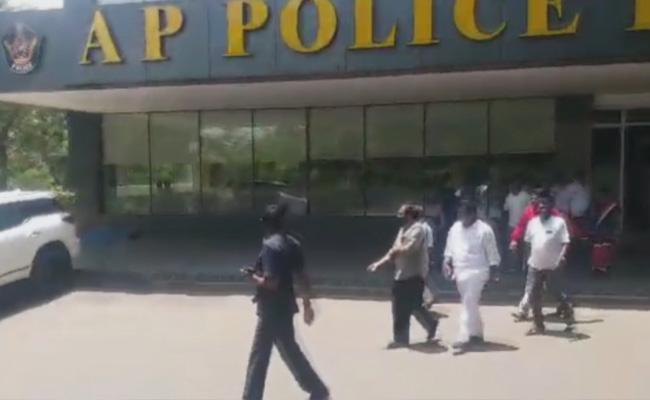 YSRCP MLA Alla Ramakrishna Reddy Complain To TDP Leaders - Sakshi