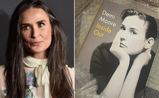 Demi Moore Reveals Inside Life Details in Her New Book - Sakshi