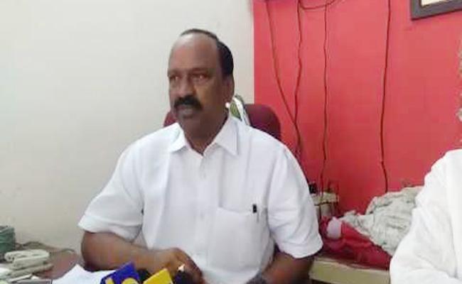 Donepudi Shankar Opposes Andhra Banks Merger In Vijayawada - Sakshi
