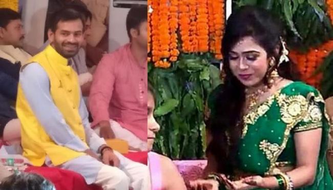 Tej Prataps Wife Aishwarya Leaves Rabri Devis Home - Sakshi