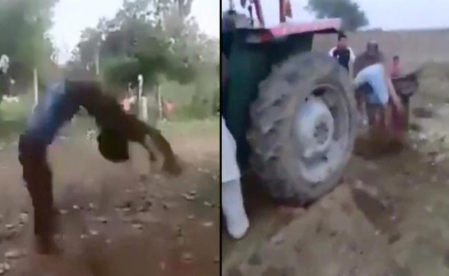 Viral video Man Hits Dogs Karma Bites Back In Pakistan - Sakshi