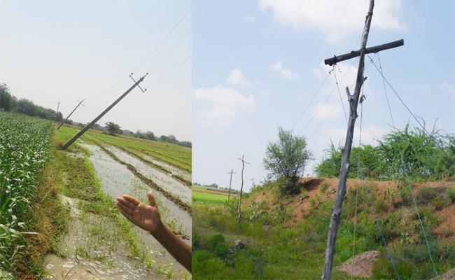 Power Shock Deaths in YSR Kadapa - Sakshi