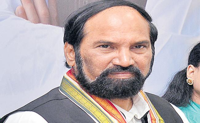 Uttam Kumar Reddy on Congress Party Membership Drive in Telangana - Sakshi