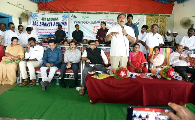 Errabelli Dayakar Rao Speaks About Village Development In Warangal - Sakshi