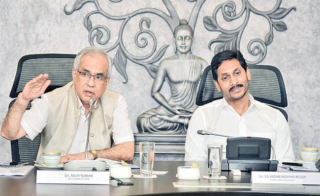 Niti Aayog vice chairman Rajiv Kumar praises AP CM YS Jagan - Sakshi