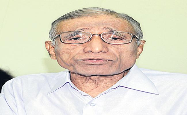 Satya Nadella father BN Yugandhar passes away - Sakshi