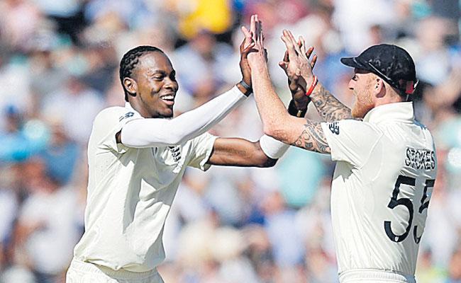Jofra Archer Six Wickets Put England on Top Despite Steve Smiths resistance - Sakshi