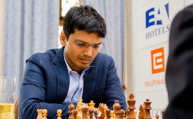 Harikrishna Hattrick Win In The Second Round of The World Cup Chess Tournament - Sakshi