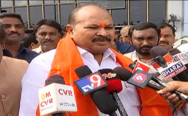 Kanna Lakshminarayana Comments About Steel Factory In YSR District - Sakshi