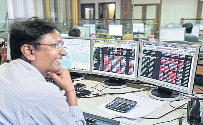 stock market ends with profit - Sakshi