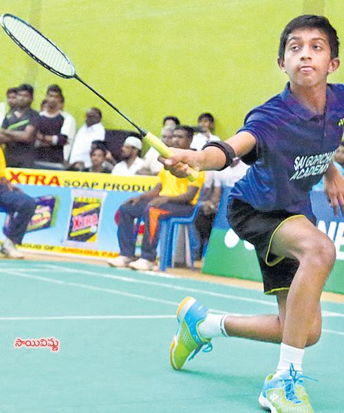 Sai Vishnu And Sri Krishna Leads Badminton Championship Of Telangana - Sakshi