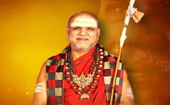 Ending Swaroopanandendra Saraswati Chaturmasya Deeksha - Sakshi