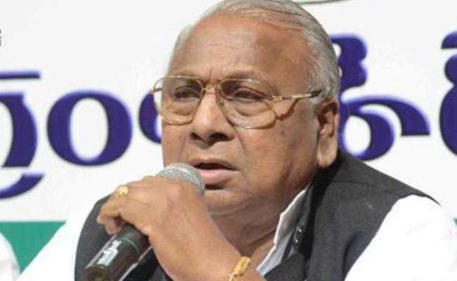Congress Senior Leader V Hanumantha Rao Appointed As Anti Uranium Chairman - Sakshi
