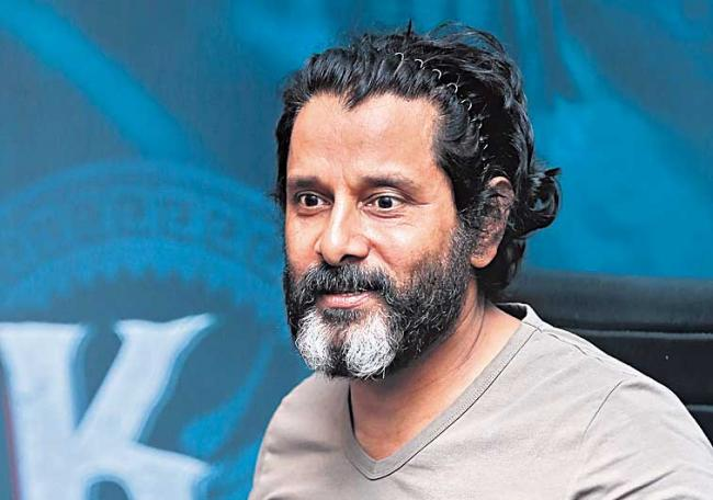 Vikram may don 25 different looks for Ajay Gnanamuthu film - Sakshi