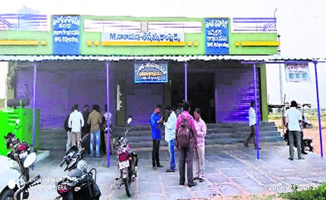 ACB Officers Raids Dhone MVI Office In Kurnool - Sakshi