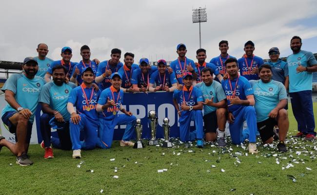 Team India Seal A Thrilling 5 run win over Bangladesh in U19 Asia Cup - Sakshi