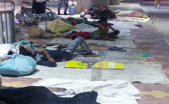 Molestation on Women Beggars in Prakasam - Sakshi