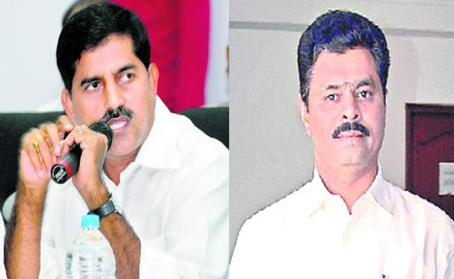 CM Ramesh Opposes To Adhi Narayana Reddy Over His Join In BJP Party - Sakshi