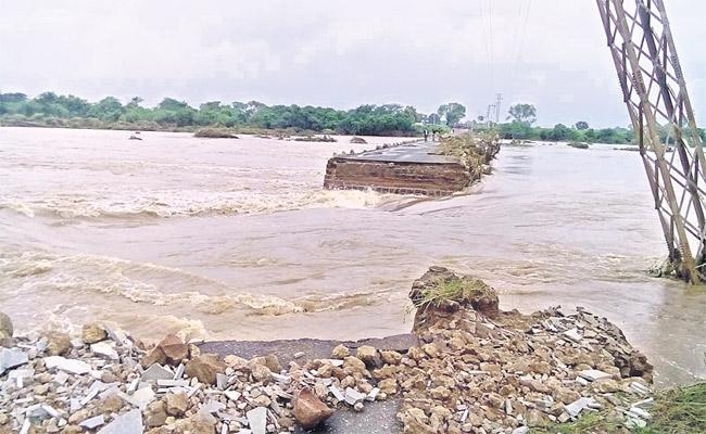 After Collapsement Of Bridge On Kagna River No New Bridge Constructed - Sakshi
