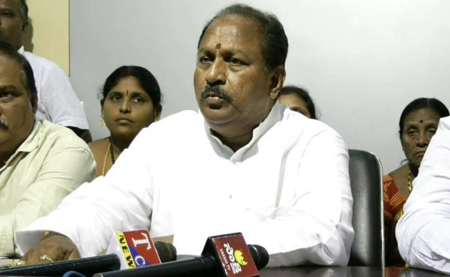 YSRCP MLA Kottu Satyanarayana Fires On BJP Leader Manikyala Rao - Sakshi