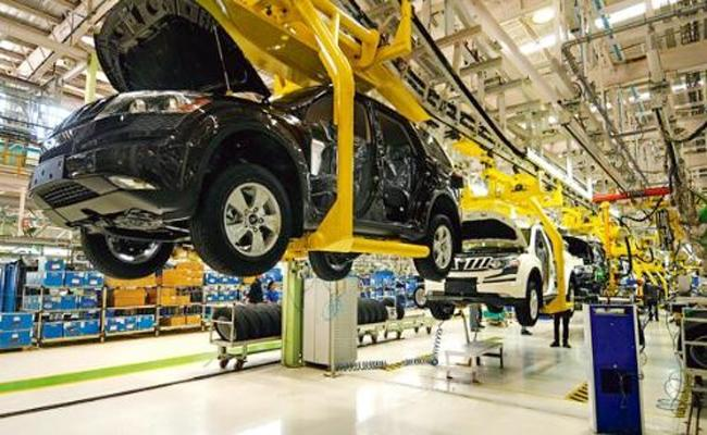 Mahindra Plant Closed From October Eighth - Sakshi