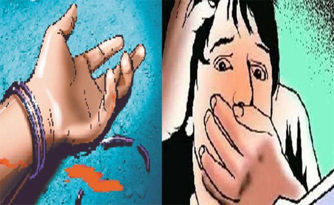Woman Killed And Thrown Into The Well At Chinna Shankarampeta - Sakshi