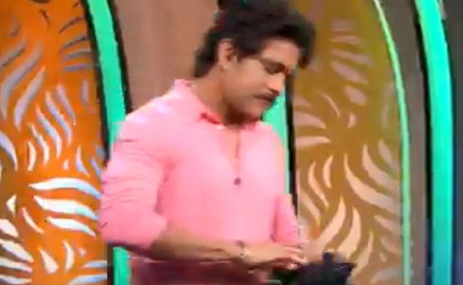 Bigg Boss 3 Telugu: Nagarjuna Warning To Mahesh Vitta - Sakshi