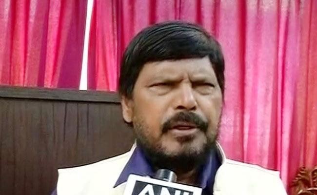 Ramdas Athawale Warns Imran Khan Asks Hand Over POK - Sakshi