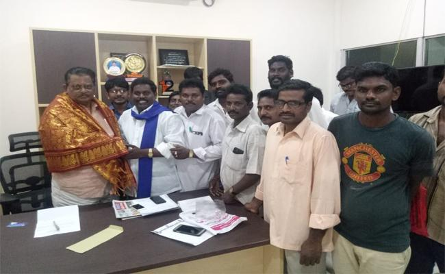Minister Sri Ranganatha raju praises Ys Jagan In Penukonda - Sakshi
